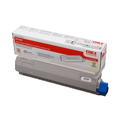 Toner Amarillo OKI MC860 -...